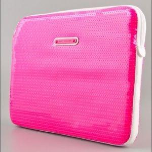 Juicy couture 13 in sequin laptop case